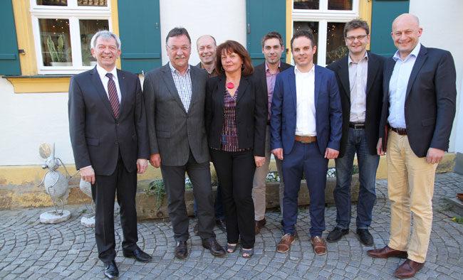 Geschäftsführer Richard Hubert verabschiedet