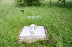 Zwischen 1962 und 1970 gebohrten Brunnen zwischen Eggolsheim und Unterstürmig