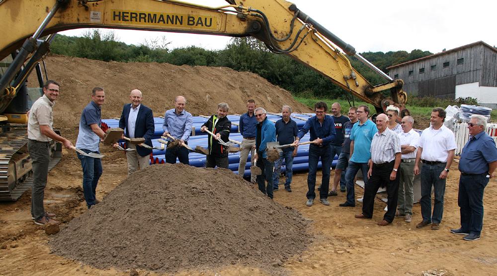 Erneuerung Wasserleitung Drügendorf
