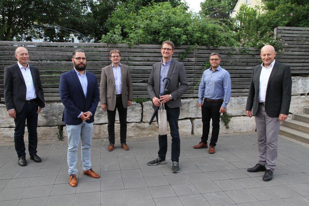 Verabschiedung Lipfert - Vorstellung neuer Geschäftsführer Batz